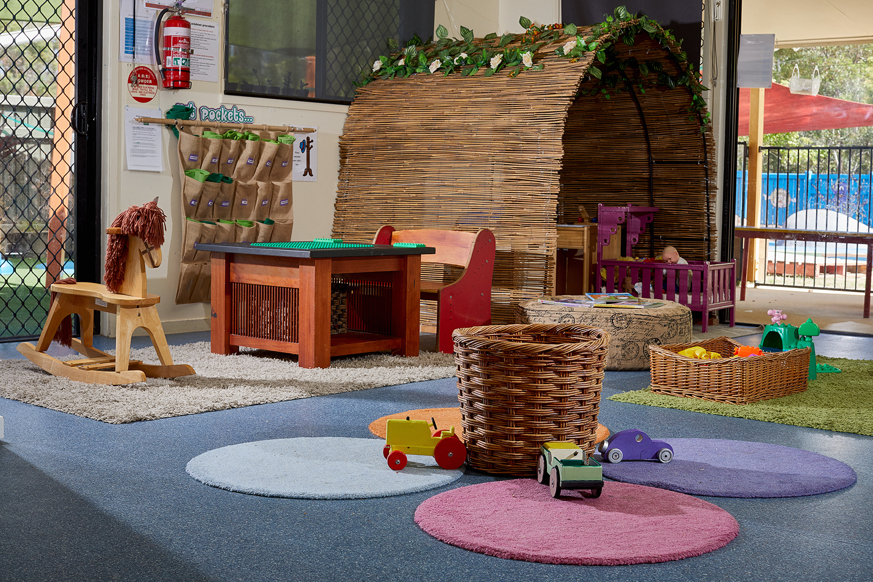 Area of child care classroom at Tadpoles Pacific Paradise
